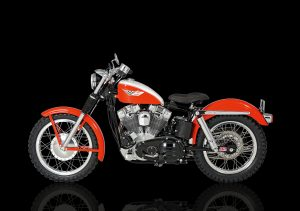 Harley Davidson XLCH by German Motorcycle Authority